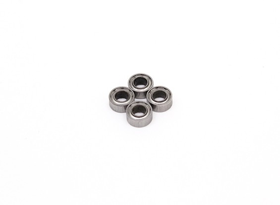 Bola 3x6x2.5mm cojinete (4pcs) - BSR Racing BZ-222 1/10 2WD Buggy Racing