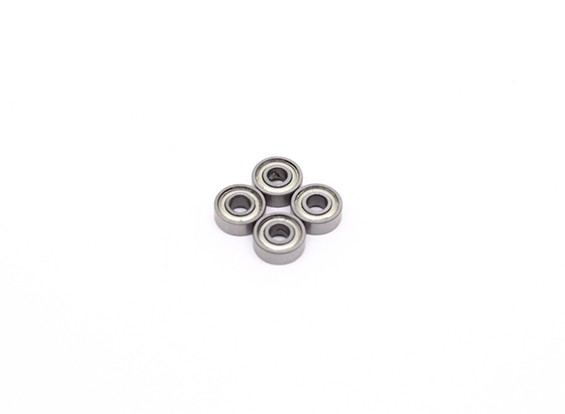Bola 3x8x3mm cojinete (4pcs) - BSR Racing BZ-222 1/10 2WD Buggy Racing
