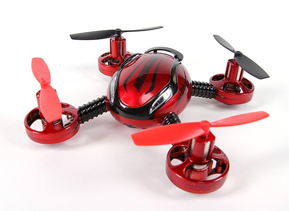 Aerocraft Mini Quadcopter con micro de la cámara y las luces (Modo 2) (listo para volar)