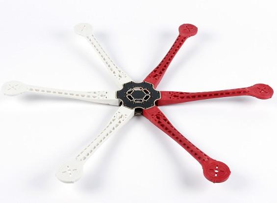 H680 V3 fibra de vidrio Hexacopter marco 680mm - Integrado Versión PCB