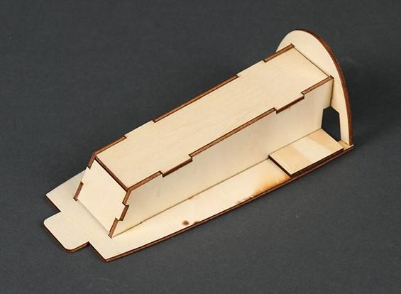 HobbyKing® Bix3 Trainer 1550mm - Sustitución FPV Canopy