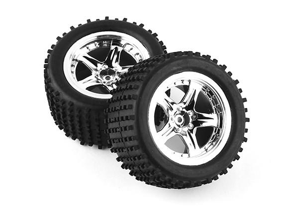 Neumáticos Pre-Set pegados (2 unidades) - A3011