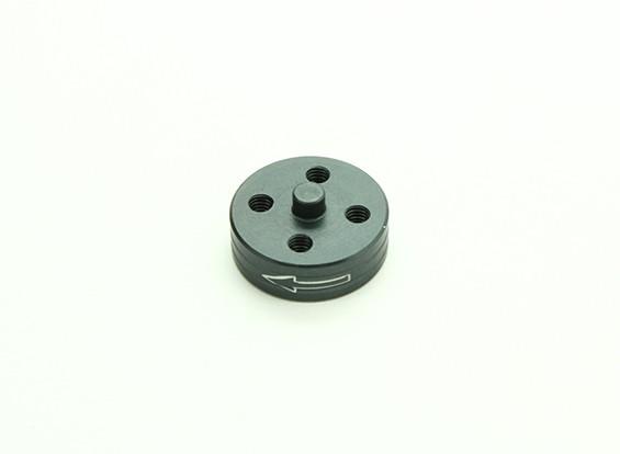 El aluminio CNC de liberación rápida auto-apriete adaptador Prop - Titanium (Prop lateral) (hacia la izquierda)