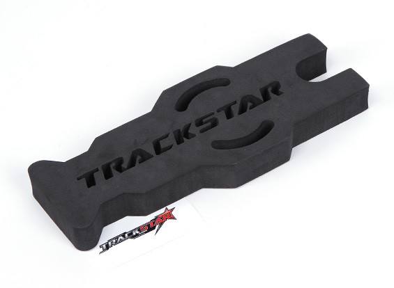 TrackStar 1/10 y 1/12 Touring Escala / Mantenimiento Pan soporte del coche (Negro) (1 unidad)