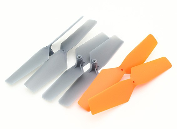 Walkera QR Y100 Wi-Fi FPV Mini Hexacopter - Propulsores (CWplusCCW) (3pairs)