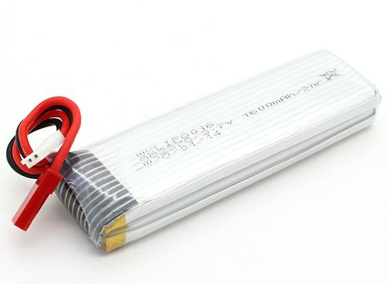 Walkera 3.7V 1600mAh batería de repuesto para LiPoly QR Y100