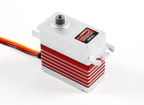 Engranaje helicoidal TrackStar TS-930HG sin escobillas Digital de Alta Velocidad Servo 17kg / 0.07sec / 72g