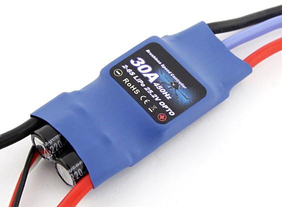Flycolor 30 amperios del Multi-rotor ESC 2 ~ 6S Opto