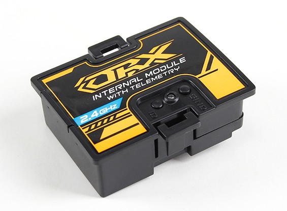 OrangeRX 2,4 GHz módulo de telemetría Para Turnigy 9XR Pro (DSMX / DSM2 / Walkera Compatible)