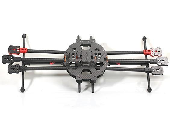 Tarot FY680 IRON MAN 680 Hexa-Helicóptero de carbono Kit TL68C01