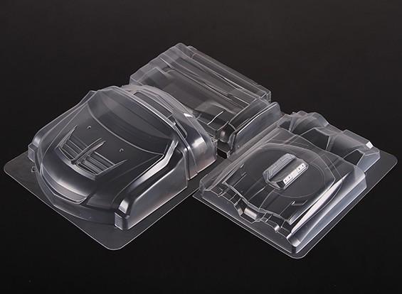 Bodykit amplia para Mitsubishi Lancer Evolution 9 corporal
