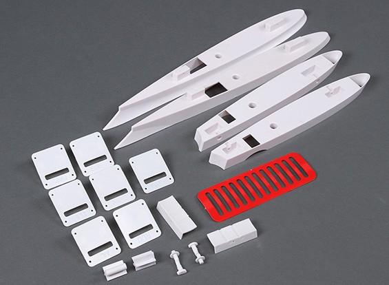 HobbyKing Cobra 90mm EDF - Sustitución de piezas de plástico Conjunto