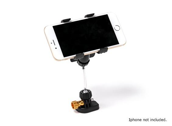 Transmisor teléfono inteligente soporte de montaje (Negro)