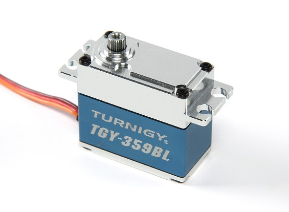Turnigy ™ TGY-359BL Ultra High Torque de coches BB / DS / MG Servo 25kg / 70g 0.13sec