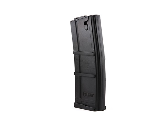 King Arms 135rounds revistas de estilo SIG556 para M4 AEG (Negro)
