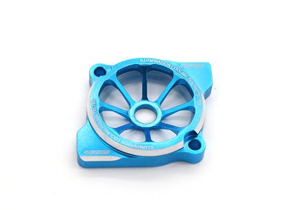 Activo Hobby 25mm Protector de iluminación del ventilador (azul)