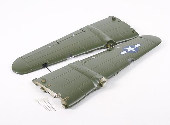 HobbyKing B-25 1250mm - Sustitución Ala principal
