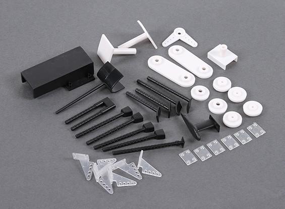 HobbyKing B-25 1250mm - Sustitución Plásticos Conjunto