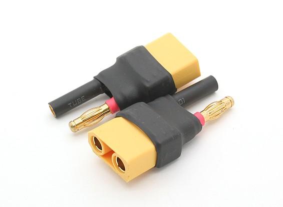 HXT 4mm Bullet al adaptador de la batería XT90 (2pcs)