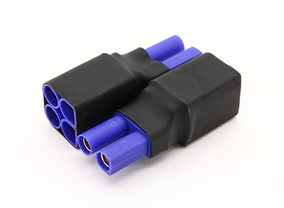 Arnés EC5 para 2 Paquetes en paralelo 2pcs / bolsa