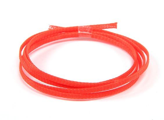 Malla de alambre de 3 mm de neón de la Guardia Roja (1m)