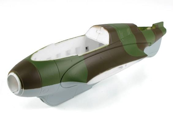 Durafly Me-163 950mm - Sustitución del fuselaje (inc carro servo)