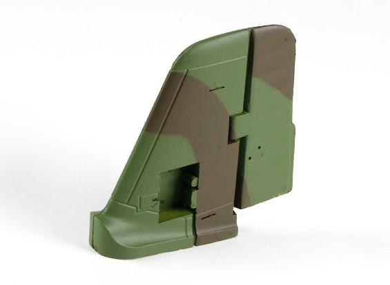 Durafly Me-163 950mm - Sustitución del timón vertical y montaje de cola