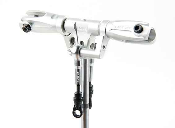 Tarot 450 PRO / PRO V2 DFC de perfil bajo Conjunto del rotor Cabeza - plata (TL45162-A)