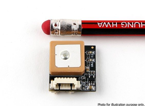 HKPilot Micro GPS y módulo de brújula U-BLOX 7 (8 g)