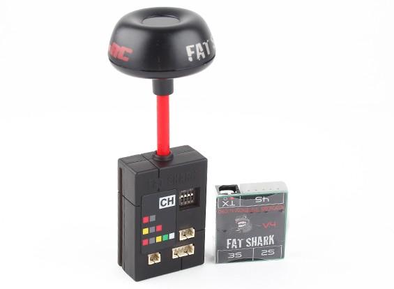Transmisor FatShark 25 mW 7 canales 5.8GHz Certificado CE de vídeo con NexwaveRF
