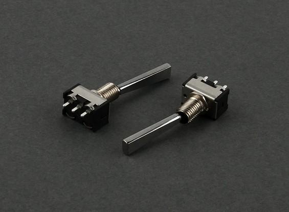 Piso interruptor de 2 vías (largo) (2pcs)