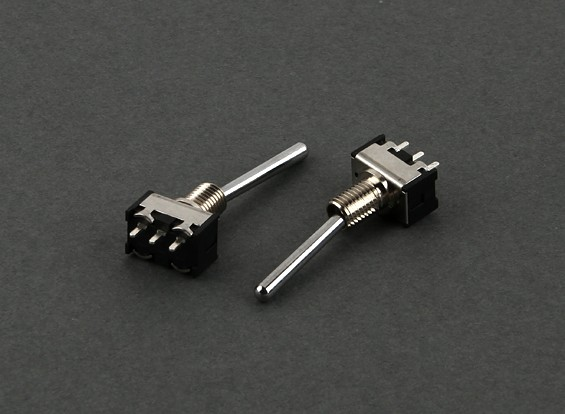 Ronda interruptor de 2 vías (largo) (2pcs)