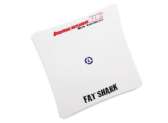 Inmersión Fatshark SpiroNET LHCP Patch 5.8GHz Antena (SMA) Ganancia 13dBi
