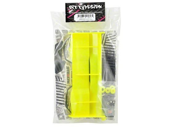 Bittydesign cautela ala para todos 1/8 Buggy / Truggy (amarillo)
