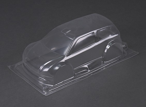 BSR Racing M.RAGE 4WD M-Chasis - Clear Body (Lexan)