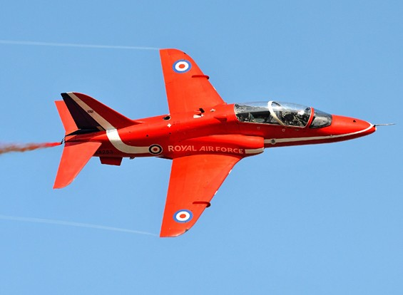 "Italeri escala 1/48 Hawk T1A ""Red Arrows"" Kit modelo plástico"