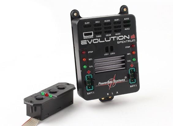PowerBox Evolución Spektrum w / SensorSwitch