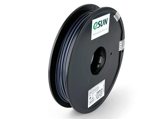 Impresora 3D ESUN 3 mm de filamento gris PLA 0,5 kg Carrete