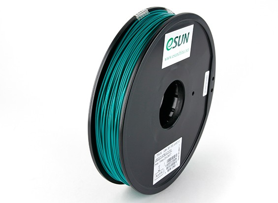 ESUN 3D Filamento impresora 1.75mm Verde ABS de 0,5 kg Carrete
