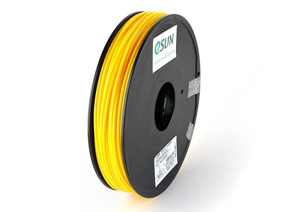 ESUN 3D Filamento impresora 3mm Amarillo ABS de 0,5 kg Carrete