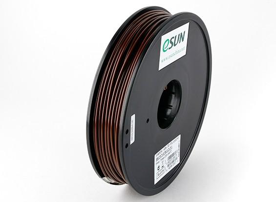 ESUN 3D Filamento impresora de Brown 3mm ABS 0,5 kg Carrete