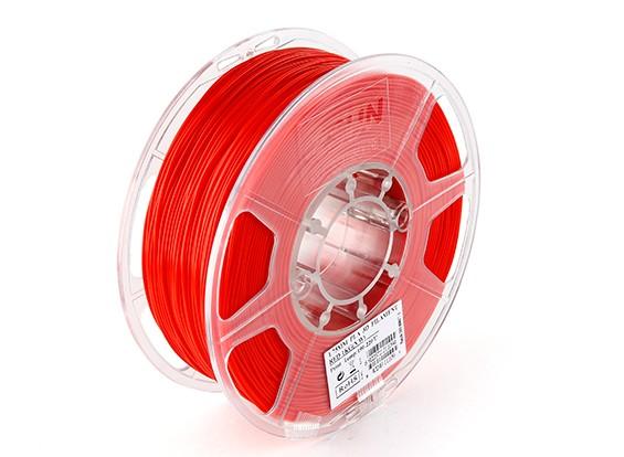 Impresora 3D ESUN 1.75mm Filamentos Red PLA 1kg rollo