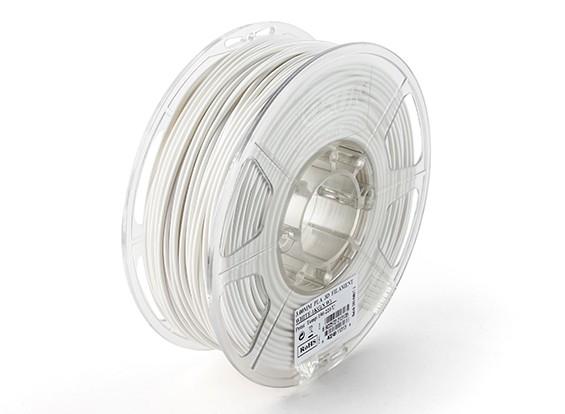Impresora 3D ESUN Filamento Blanca 3mm PLA 1kg rollo