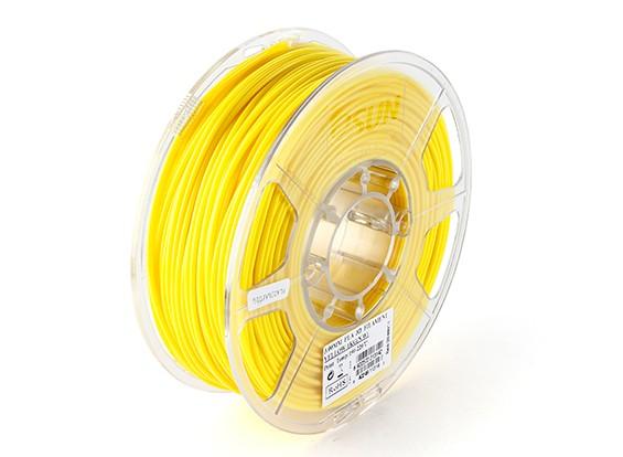 ESUN 3D Filamento impresora 3mm Amarillo PLA 1kg rollo