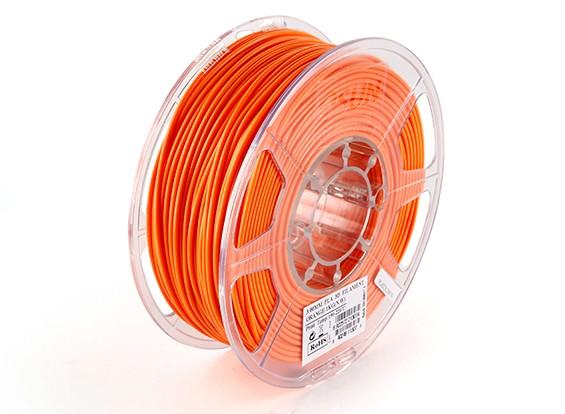 Impresora 3D ESUN Filamento Naranja 3mm PLA 1kg rollo