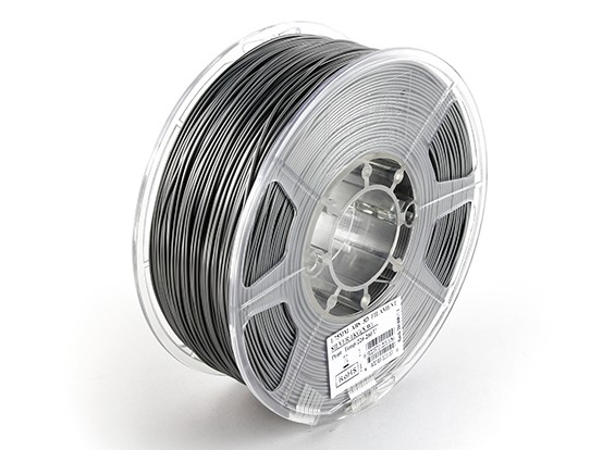 ESUN 3D de filamentos de plata impresora 1.75mm ABS 1kg rollo