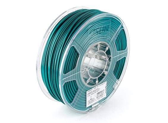 ESUN 3D Filamento impresora 3mm ABS verde 1kg rollo