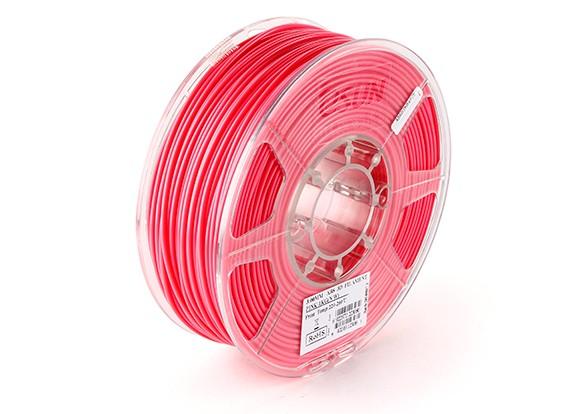 Impresora 3D ESUN Filamento Rosa 3mm ABS 1kg rollo