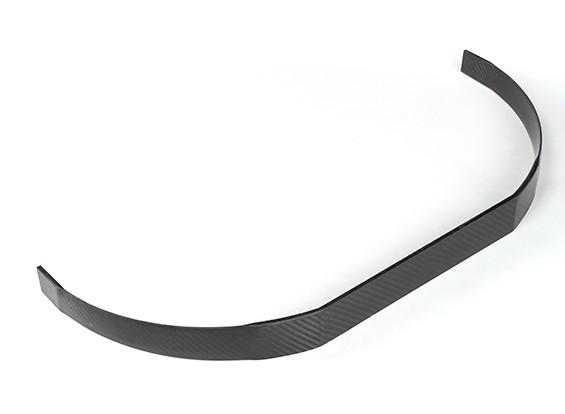 Fijo de fibra de carbono del tren de aterrizaje Para 260mm fuselaje ancho (1 unidad)