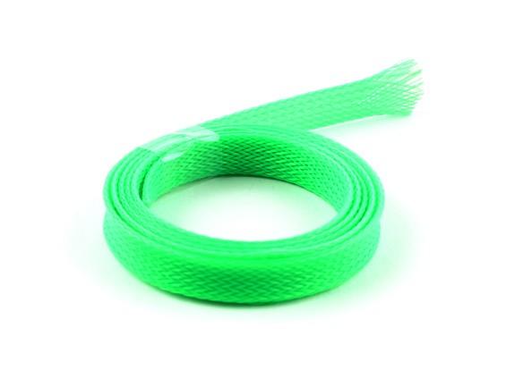 10 mm de alambre de malla Guardia verde de neón (1m)
